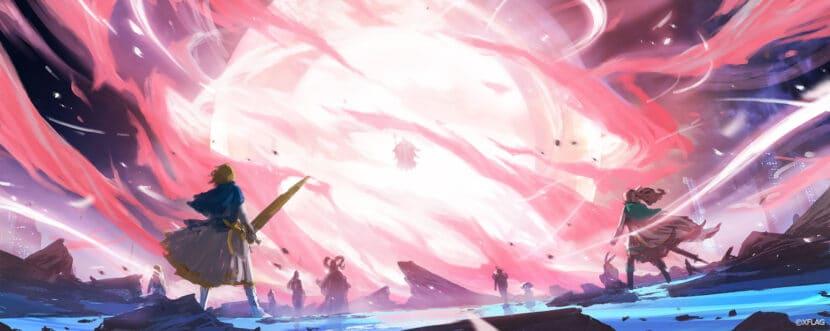 モンストアニメ コンセプトアート